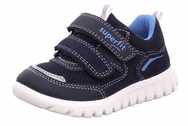 Superfit Sneaker Kinder Halbschuhe Kletter Sportschuhe Freizeit Outdoor blau NEU