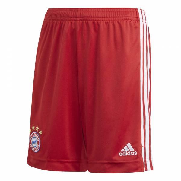 adidas FCB Home Short 20/21 Kinder FC Bayern Hose Bermuda rot NEU - Bild 1